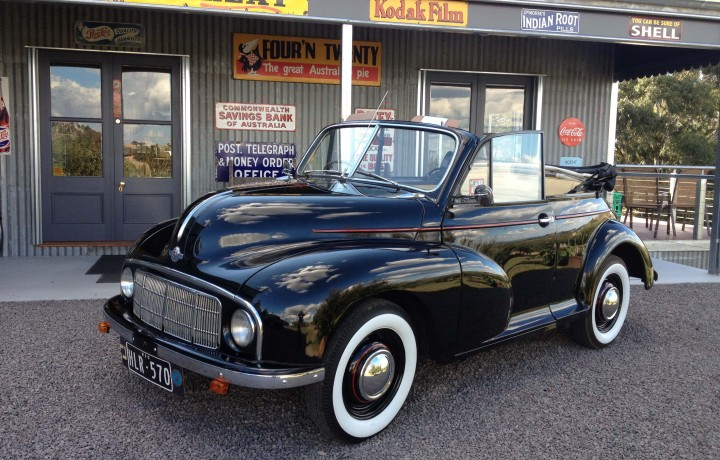 Morris Minor 1950 Convetable Star Cars Agency