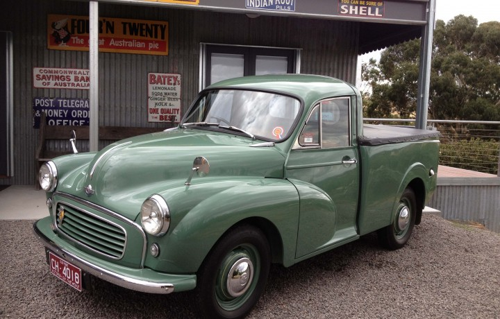 Morris Minor Ute 1969 Star Cars Agency