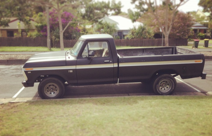 1976 Ford F100 Star Cars Agency