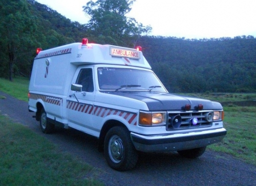 1986 Ford F100 Ambulance Star Cars Agency