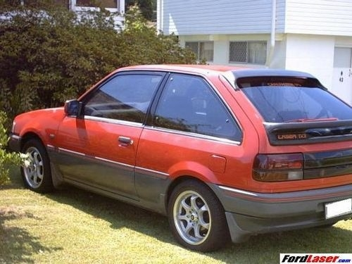 1988 Ford Laser Tx3 Star Cars Agency