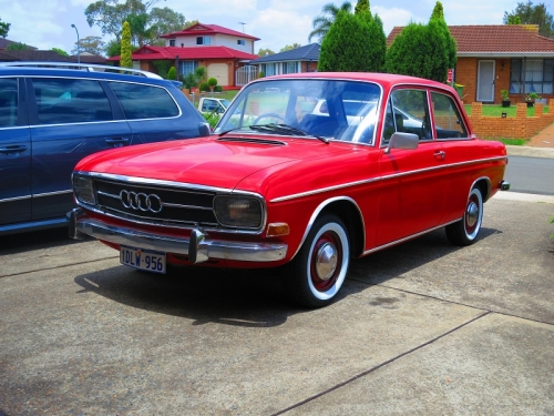 1968 Audi F103 75l Coupe Star Cars Agency