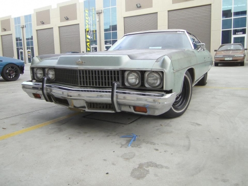 1973 Chevrolet Caprice Classic – Star Cars Agency