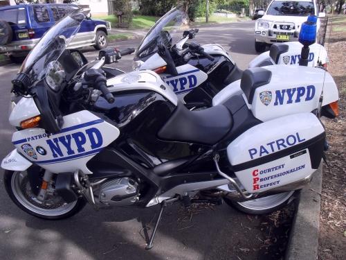 2007 Bmw Nypd Police Bikes R1200rt X 2 Bikes Star Cars