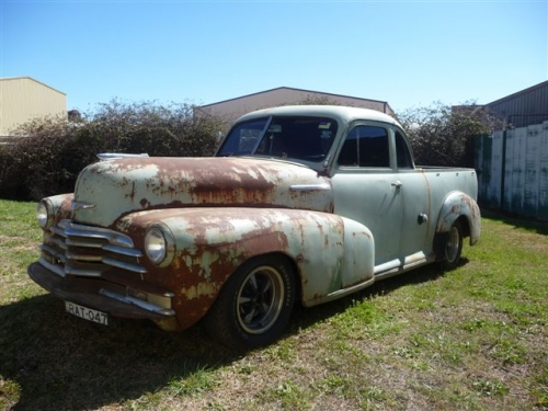 1947 Chevrolet 47 48 Chev 5 Window Ute Star Cars Agency