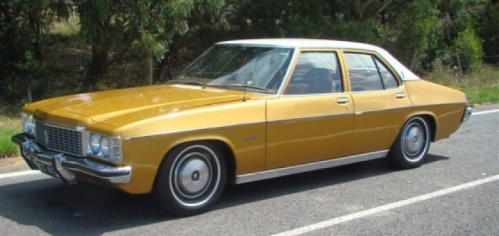 1974 Holden Hj Premier Star Cars Agency