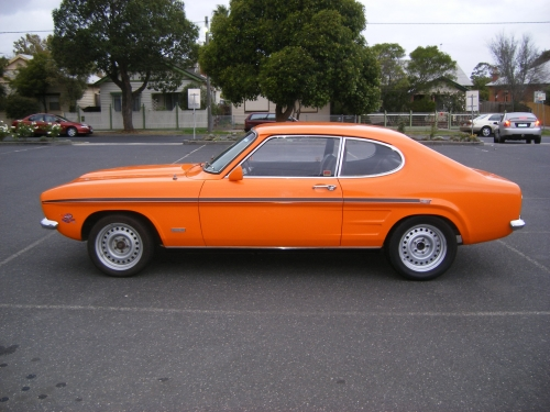 Muscle Car Decals >> 1970 Ford Capri GT – Star Cars Agency