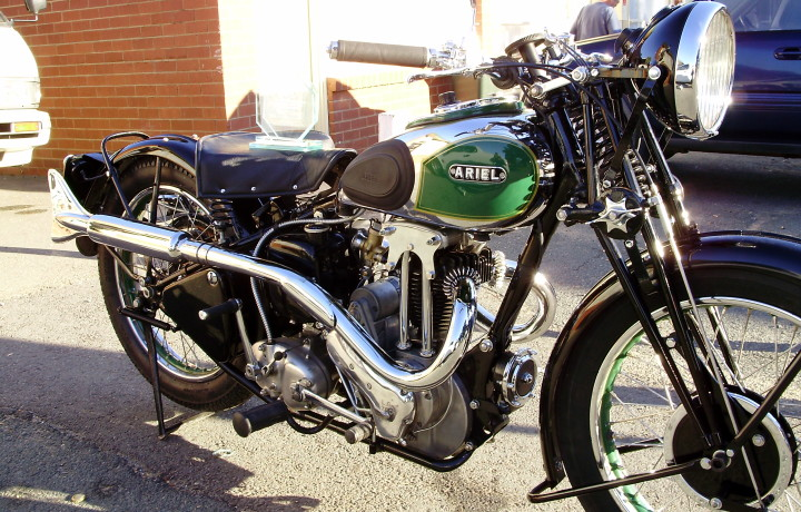1937 Ariel Lg 250cc Motorcycle Art Deco At It S Best