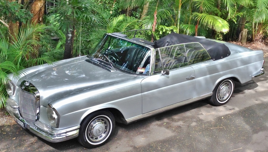 1964 Mercedes 220se Cabriolet The Hangover Star Cars