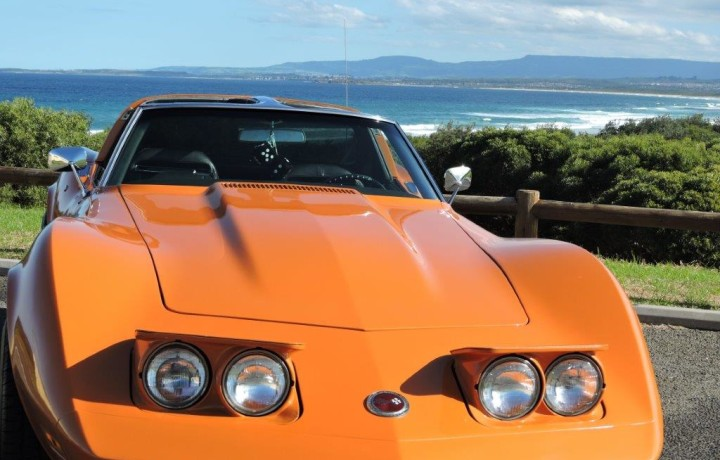 Classic Stingray Muscle Car Unique Colour Star Cars Agency