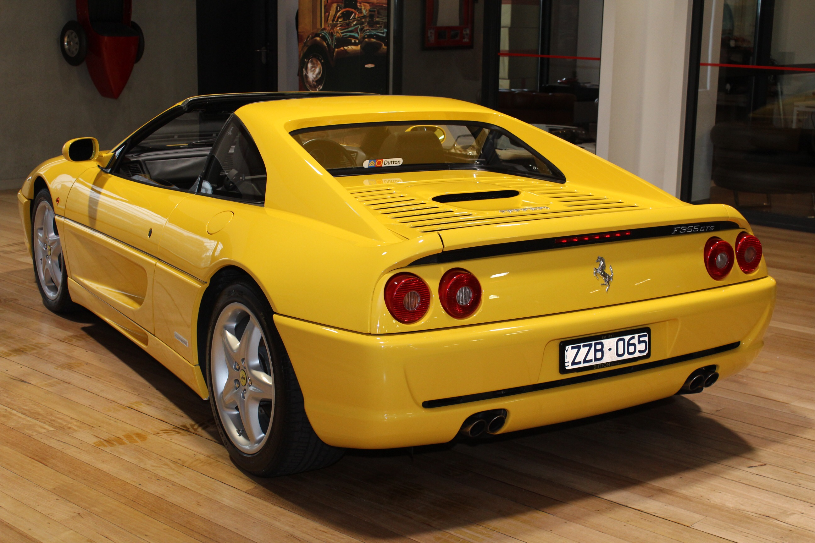 Arguably Pininfarinau0027s Finest Work For Ferrari, This Immaculate F355 GTS  Targa Has Unrivalled Looks And The Sound Of A Race Honed Italian  Thoroughbred.