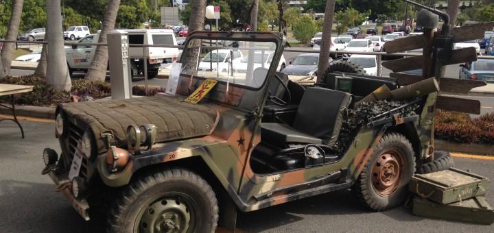 Vietnam War M151 A2 Mutt Military Jeep Star Cars Agency
