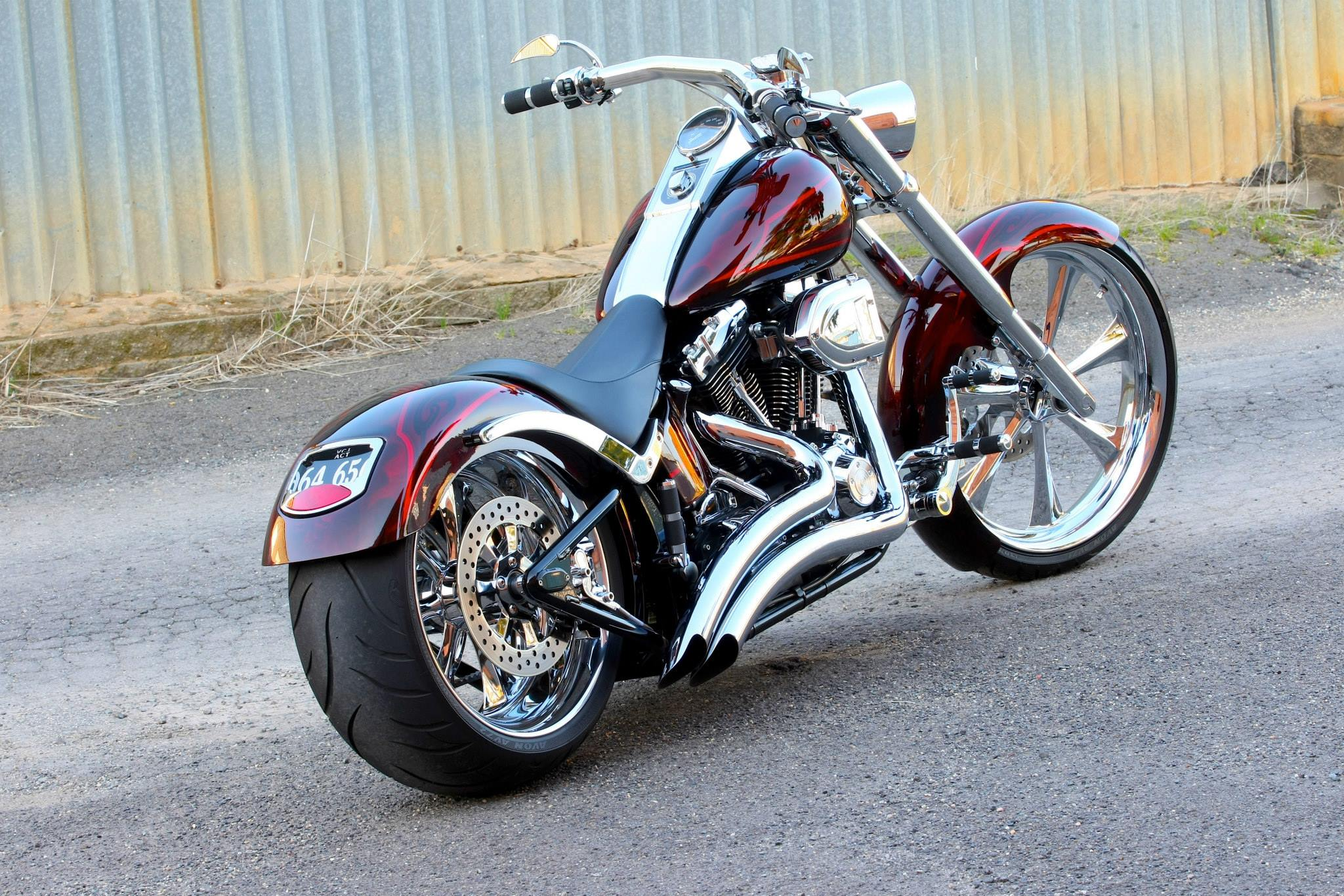 Harley Davidson Fatboy Custom Star Cars Agency