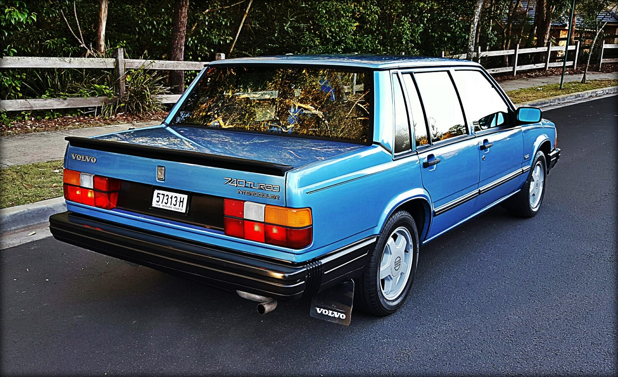 The Rare 1986 Volvo 740 Turbo – Star Cars Agency