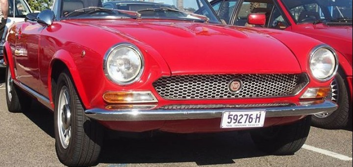 Classic Fiat Convertible Star Cars Agency