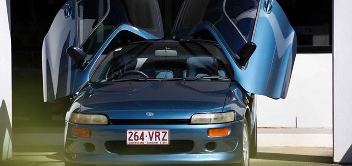 Toyota Sera Butterfly Wing Doors Star Cars Agency