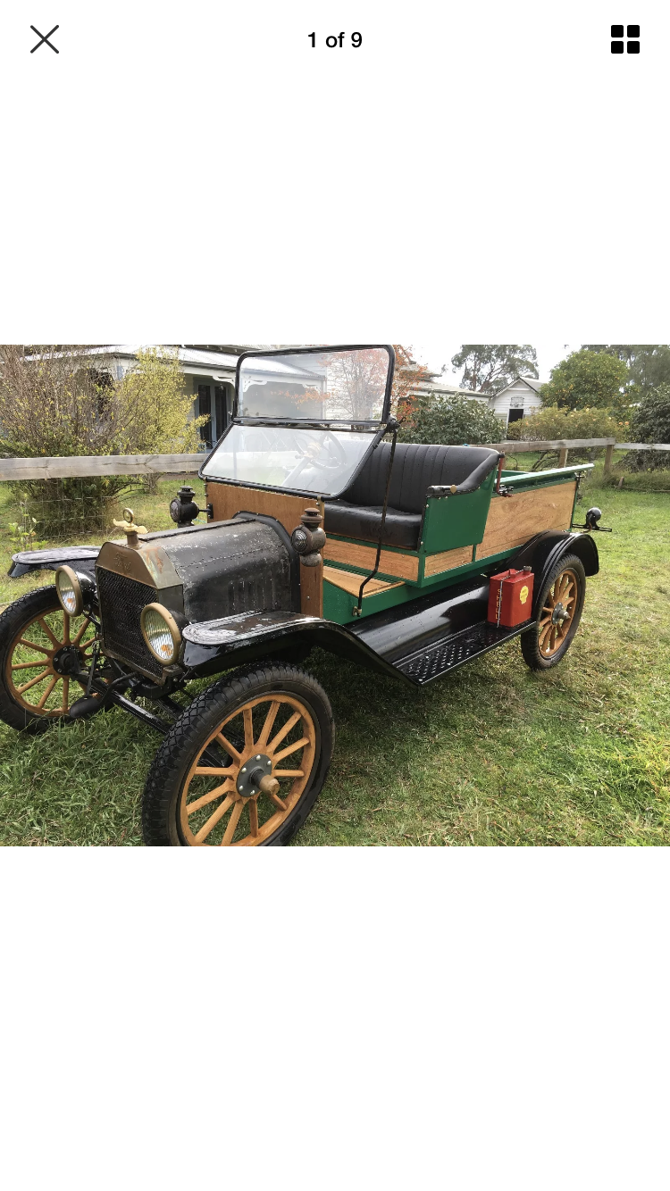 Classic T model ford 1915 ute – Star Cars Agency