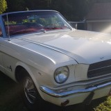 White-1965-Mustang-convertible-front-three-quarter-720x340