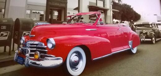 1948 Chevrolet Fleet Master Convertible Sun Visor