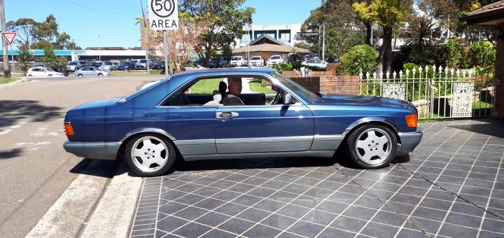 Mercedes 560 sec photo