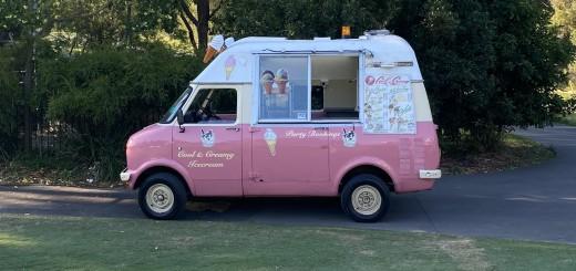Classic Ice Cream Truck